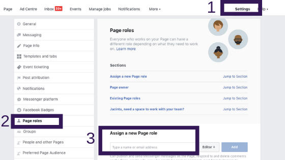 How to add an administrator on your Facebook Business Page?