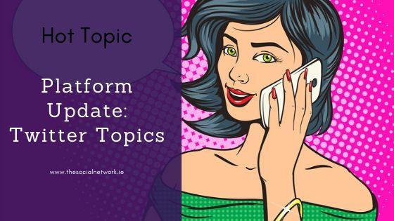 Twitter Topics Blog