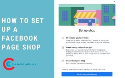 How To Set Up A Facebook Shop