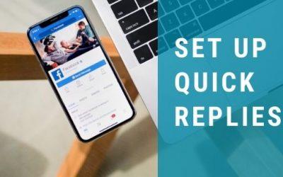 Set Up Instagram and Facebook Quick Replies